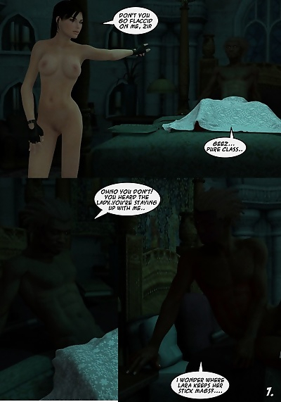 Lara Croft And Doppelganger