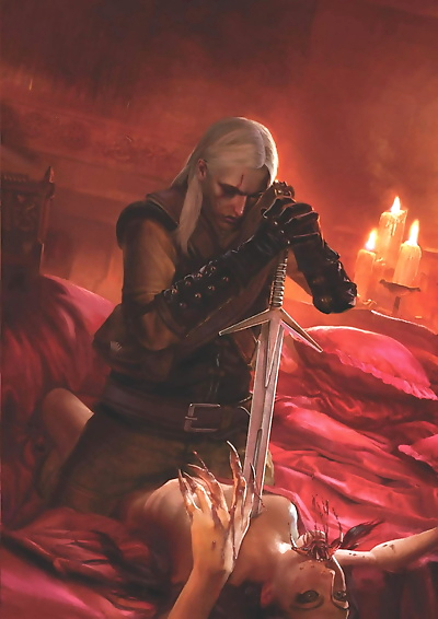 The Witcher 1 Romance Cards..