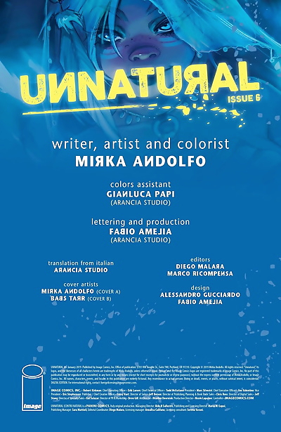 Unnatural - Issue 6