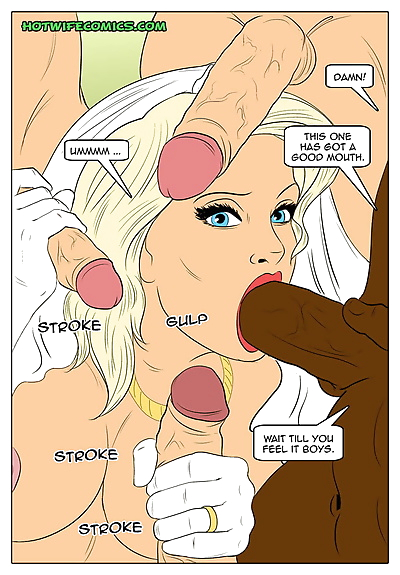 Hotwifecomics – My wedding..
