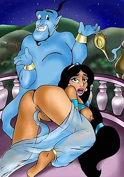 Jasmine porn cartoons - part..
