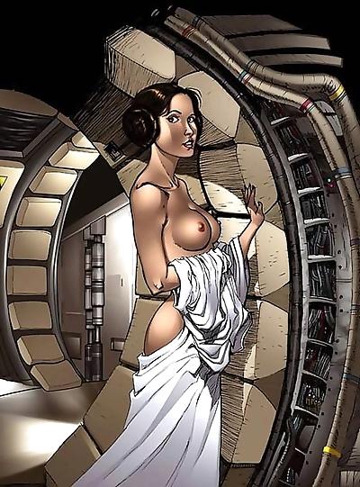 Star wars porn cartoons -..