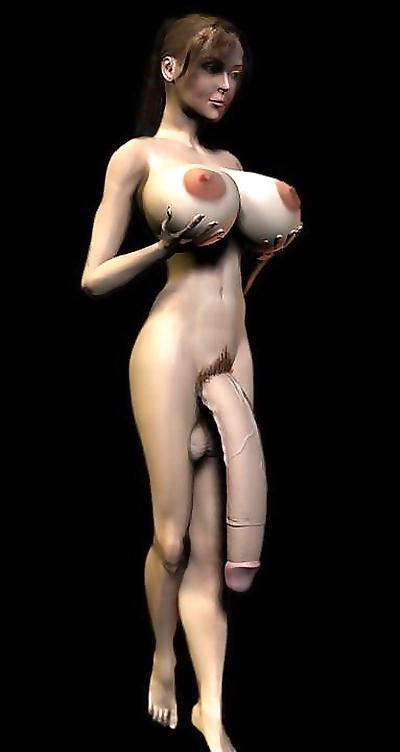 Anime tgirls with big cocks..
