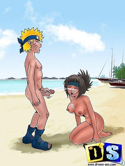Naruto bangs his bitches on..