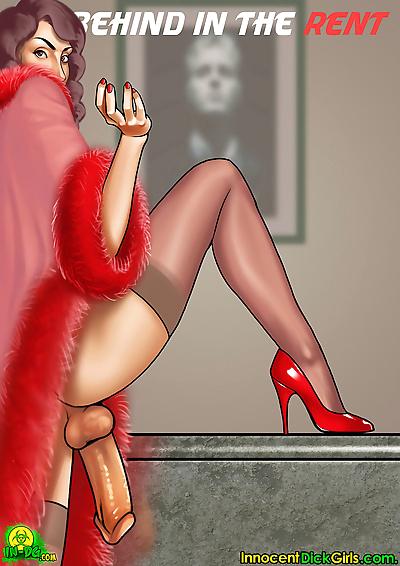 Innocent Dickgirls- Behind..