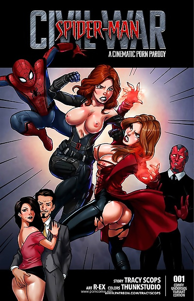 Spiderman Civil War- Tracy..