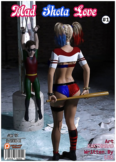Harley Quinn- Mad Shota Love