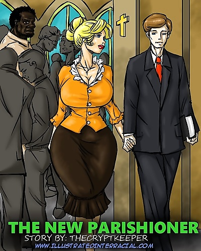 Illustrated interracial- New..